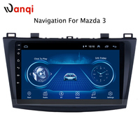 9 Inch Android 8.1 Car Dvd Gps Player For 2006 2012 mazda 3 built in Radio Video Navigation Bt Wifi
