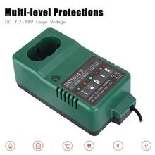 Multi การป้องกันระดับNi MHแบตเตอรี่ชาร์จDC 7.2V 18.0Vสูงสุด 1.5A Ni MHสำหรับMAKITA