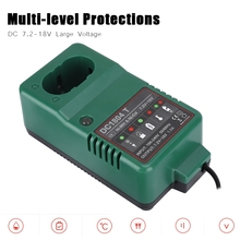 Protecciones de varios niveles cargador de batería Ni MH DC 7,2 V 18,0 V MAX 1.5A cargador Ni MH para MAKITA