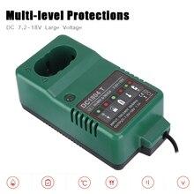 Çok seviyeli koruma Ni MH pil şarj cihazı DC 7.2V 18.0V MAX 1.5A Ni MH şarj cihazı MAKITA