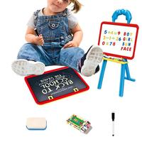 Multifunctional Small Drawing Board Children's Magnetic Double Sided Doodle Board Adjustable Early Education Easel