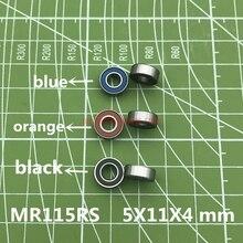 2019 font b Hot b font Sale Mr115rs Bearing Abec 3 10pcs 5x11x4 Mm Miniature Mr115