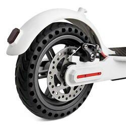 Твердой резины задние шины С полую конструкцию для Xiaomi M365 Электрический скутер