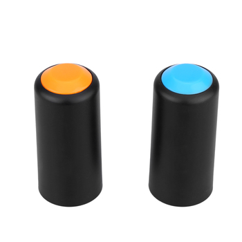 2 Colors Battery Screw On Cap Cup Cover for Shure PGX Wireless Handheld Mic Microphone image