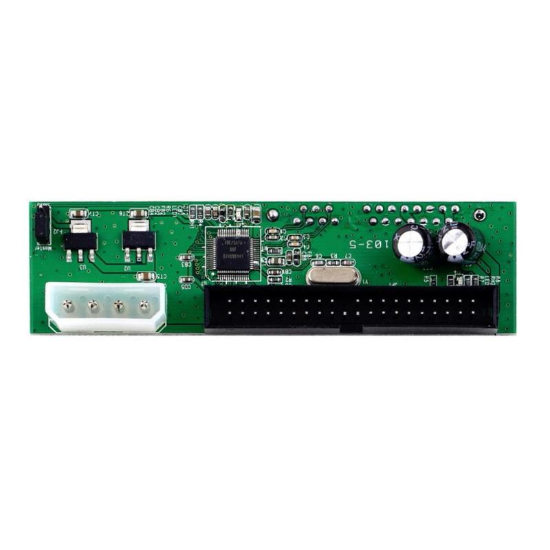 PATA IDE To SATA Hard Drive Converter Card <font><b>Adapter</b></font> For <font><b>ATA</b></font> <font><b>100</b></font> 3.5/2.5