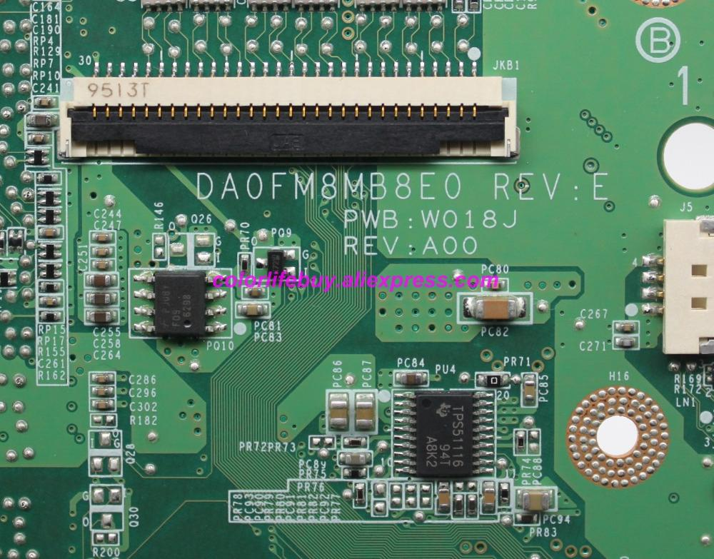 Image 5 - Genuine CN 0C235M 0C235M C235M DA0FM8MB8E0 216 0728018 PM45 Laptop Motherboard Mainboard for Dell Studio 1555 S1555 Notebook PC-in Laptop Motherboard from Computer & Office
