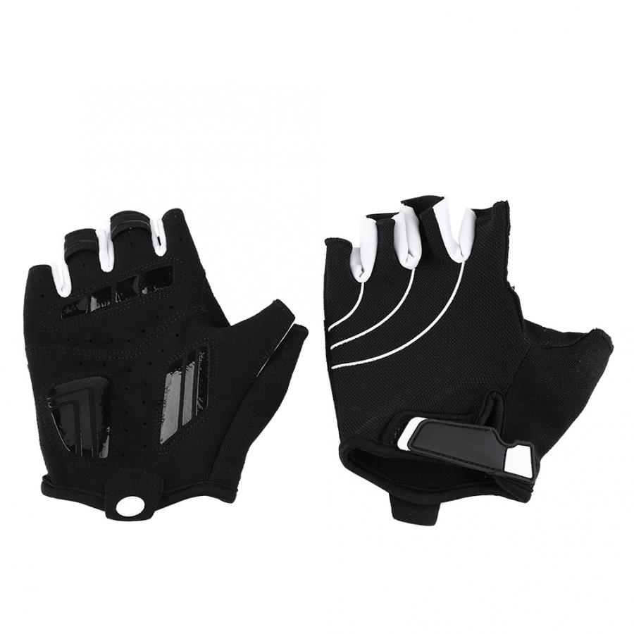 Cycling Gloves Half Finger Anti Slip Gel Pad Breathable Motorcycle Mountain Road
