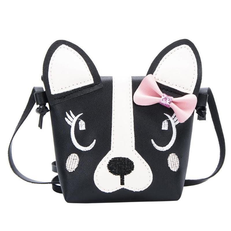 Cute Dog Shape Children Shoulder Bag Fashion Girl Shoulder Messenger Bags PU Leather Crossbody Bags Mini Girls Cute Handbag Z80 shoulder bag