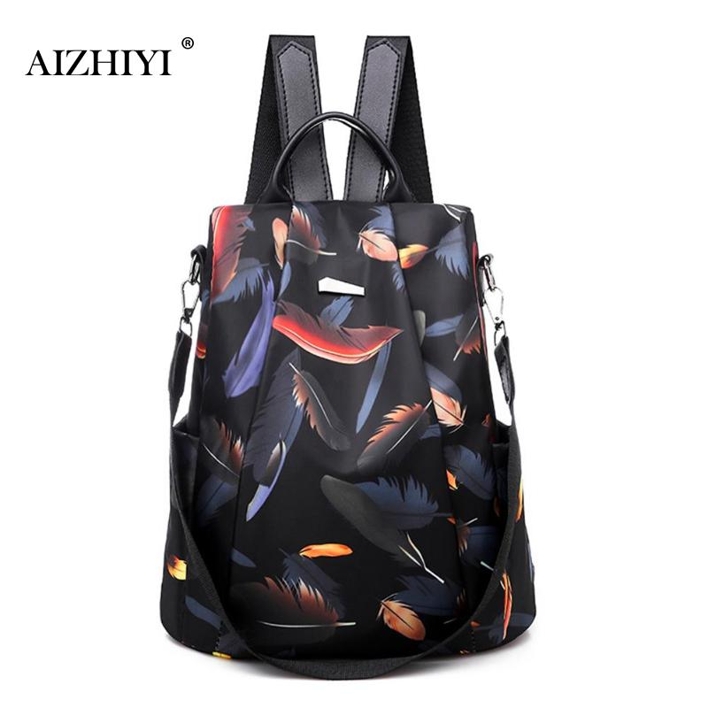 Nova mochila feminina oxford multifuction bagpack sac a dos casual anti roubo mochila para adolescentes meninas mochila 2019