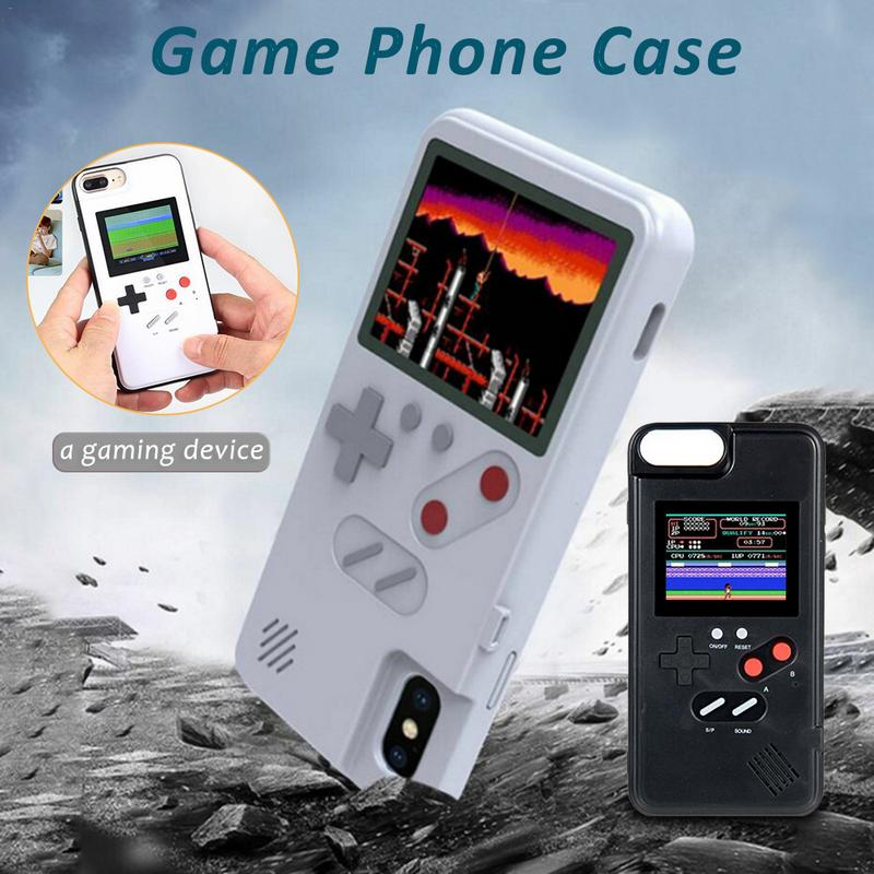 Newest Game Phone Case For iphone Gaming Case For iphone 6 7 8 67 8P XM XS XR Game Protect Shell Phone Cover Black WhiteNewest Game Phone Case For iphone Gaming Case For iphone 6 7 8 67 8P XM XS XR Game Protect Shell Phone Cover Black White