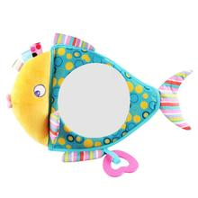 Monitor Car-Accessories Baby-Care Adjustable Infant-Safety-View Plush-Shape Useful Fish
