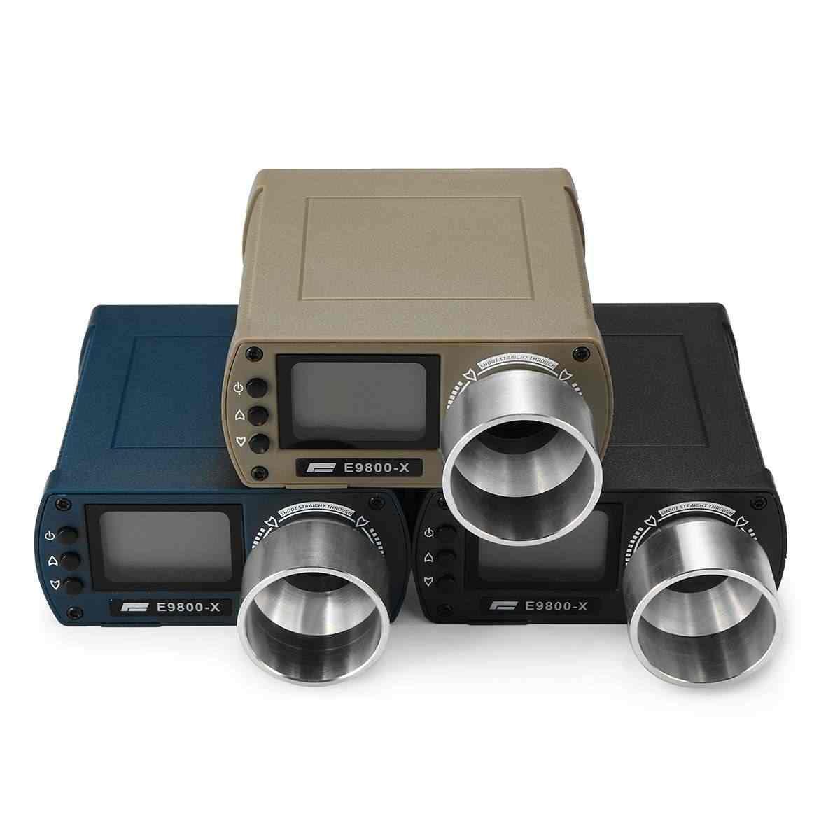 E9800-X Airsoft Bb Schieten Speed Tester Hoge Precisie Schieten Timer -10C Om 50C Lcd-scherm 0-500J Afvuren-kinetische Energie