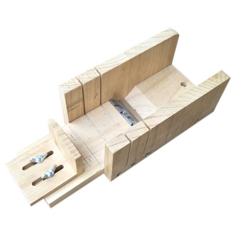 Handmade Soap Diy Material Tool wood New Simple Multifunctional Soap Cutter Beveler Planer Tool Gradienter