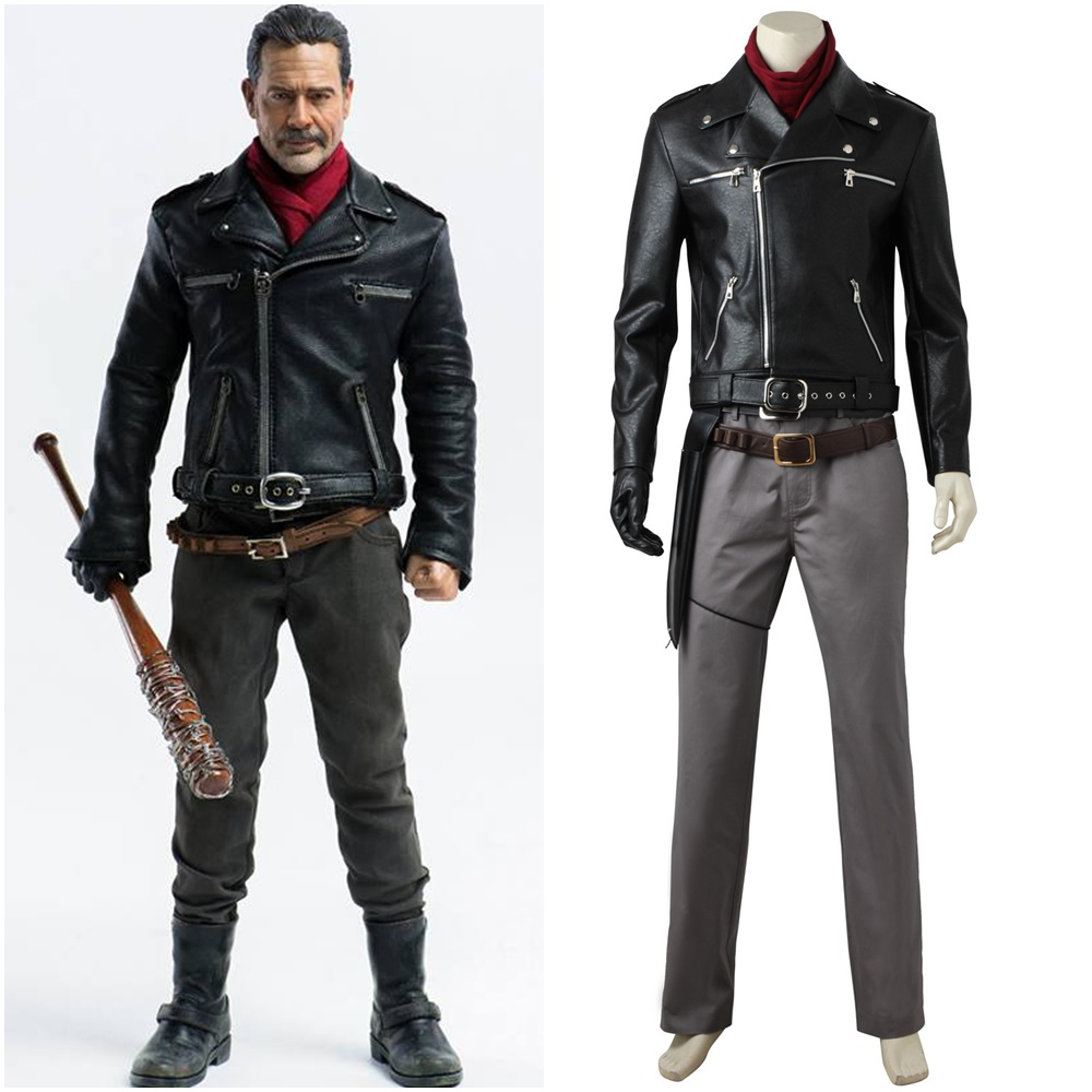 The Walking Dead Negan Cosplay Costume Custom Made