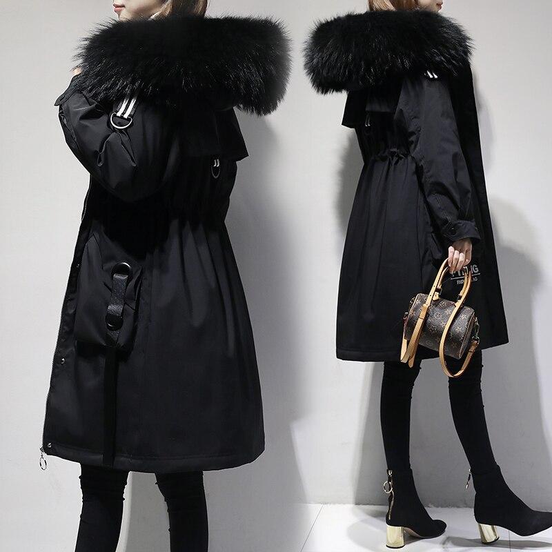 5XL de talla grande abrigo de invierno para mujer 2018 chaqueta de invierno para mujer con capucha acolchada de algodón Parka larga de alta calidad caliente abajo chaquetas p672