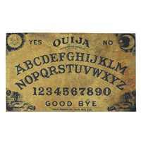 75x45 см Ouija доска полиэстер волоконный дверной коврик художественный дизайн печатный ковер напольный зал спальня крутой коврик нескользящий...