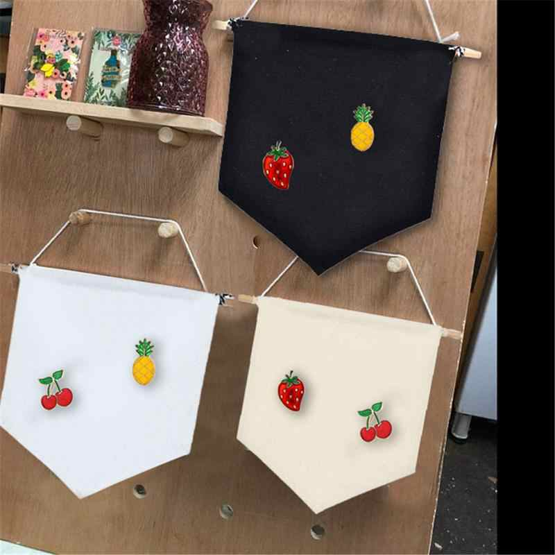 Children's Room Hanging Cloth Multifunctional 3 Color Brooch Display Pendant Durable Unique Banner Homes Offices Decoration