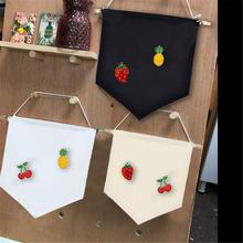 Childrens Room Hanging Cloth Multifunctional 3 Color Brooch Display Pendant Durable Unique Banner Homes Offices Decoration