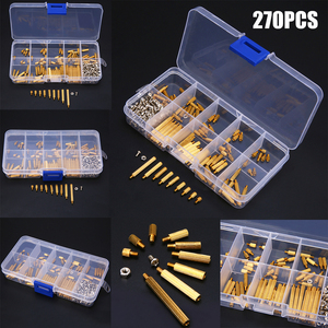270pcs M2 Male to Female Hexagonal Brass