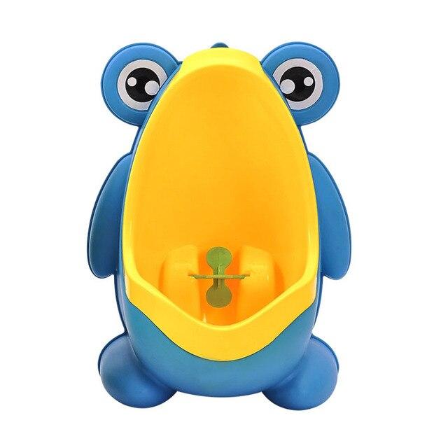 Bebé niño montado en la pared gancho Rana orinal inodoro formación Rana soporte Vertical urinario Penico pis niño infantil baño rana urinario