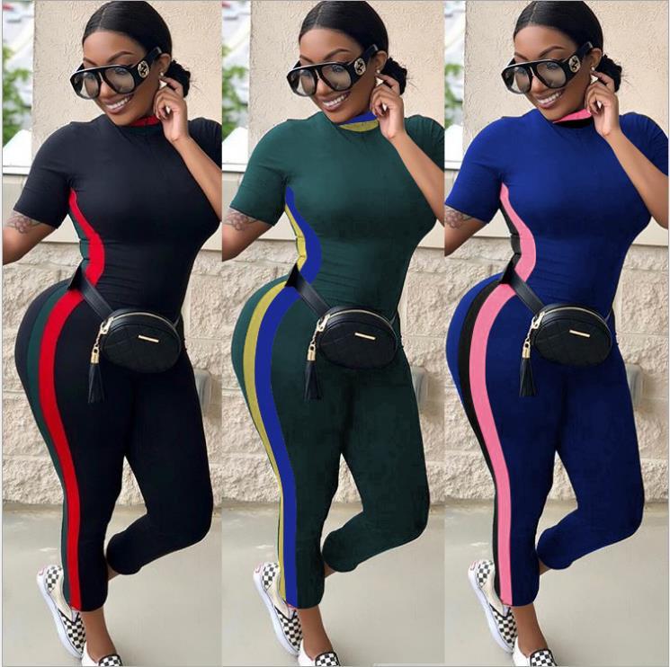 2018 Afrikaanse Kleding Dasiki Nieuwe Traditionele Sexy Casual Korte Mouw Multi-kleur Jumpsuit