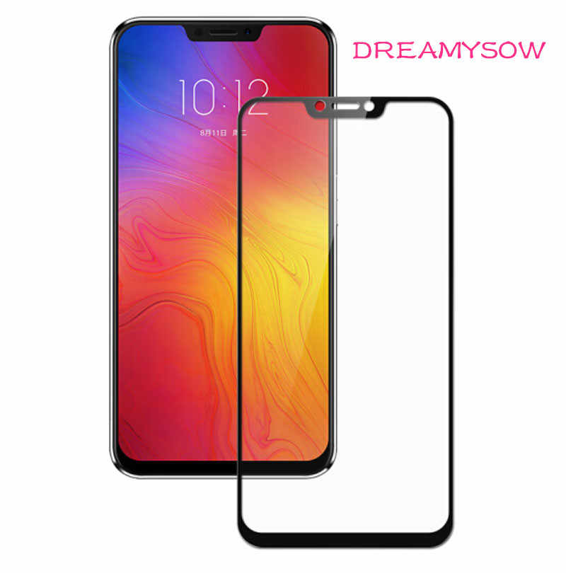 2.5D Tempered Glass For Lenovo Z5 pro Z5S A5 S5 K8 K6 Note ZUK Z2 Pro Full Cover Protective film Explosionproof Screen Protector