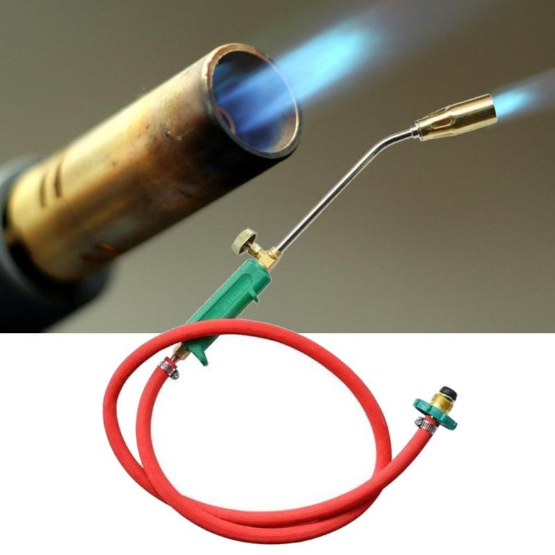 Heating Torch Liquefied Welding Gas Fire Torch Flame Blow Plunber Roofing Gun Accessories Hand Ignition for Brazing Tool New|Gas Welding Equipment| |  - title=