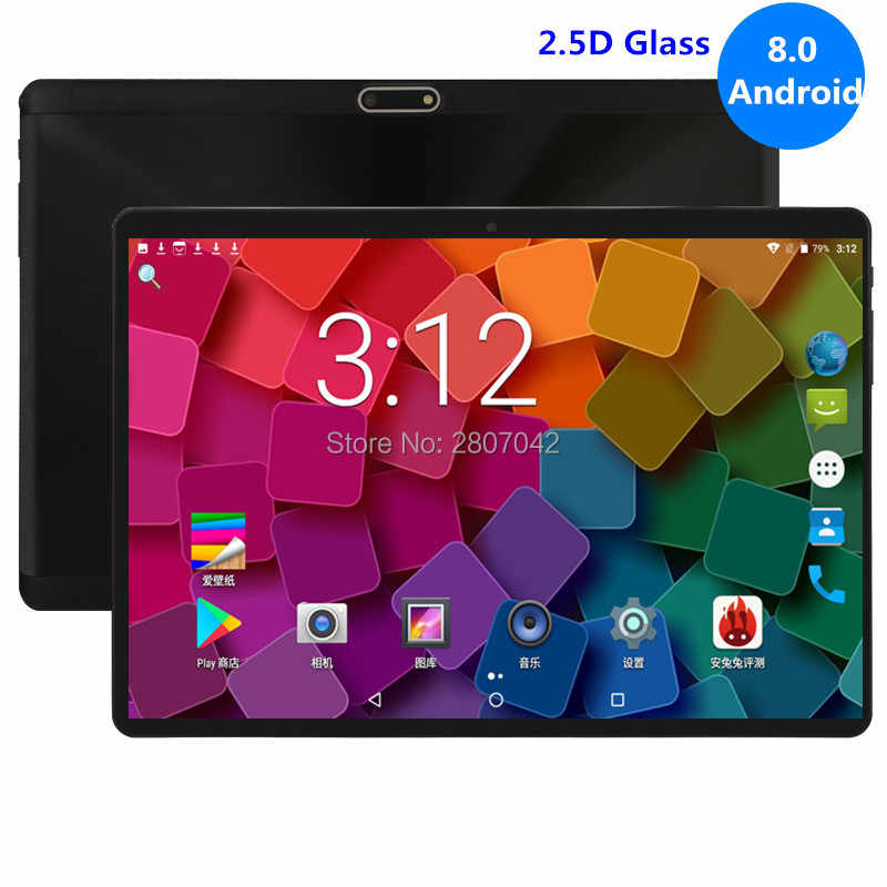 Global 10 Inch tablet 3G 4G FDD LTE Android 8.0 Octa Core 1280X800 IPS 2.5D Touch Screen RAM 4GB ROM 64 GB GPS tablet 10 GPS Pad