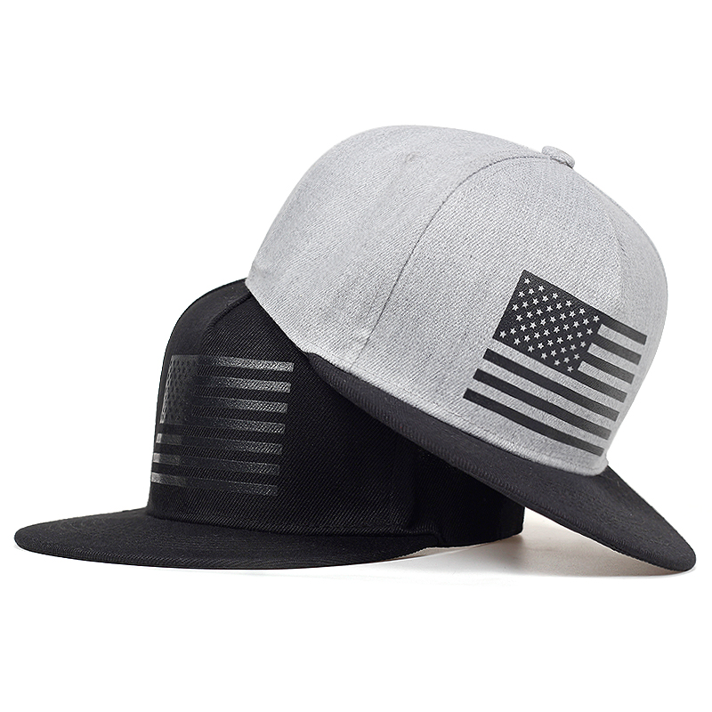 high quatily American flag print   Baseball     Cap   Men hiphop Snapback   caps   Street cool fashion street dance hat Men Women Casual hat