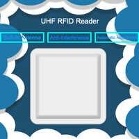 RFID UHF Antena 6 m Leitora de Longo Alcance Com 8dbi Antena SDK Controle De Acesso RS232/RS485/Wiegand26/ 34 para Sistema De Estacionamento RFID UHF
