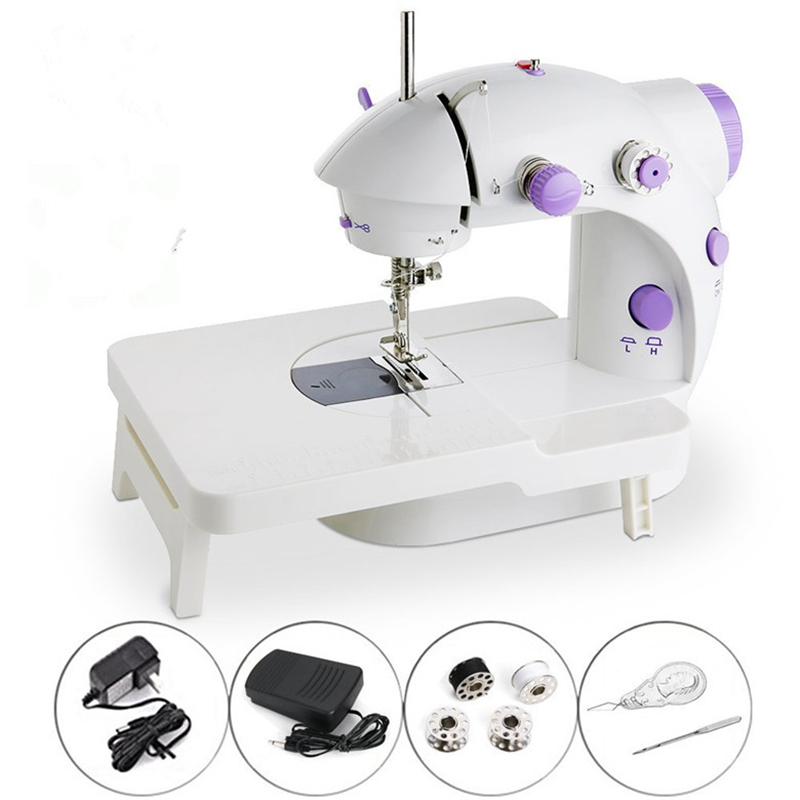Fashion mini Sewing machine with light knife household electric multi-function small eat thick sewing machine accessories IN001Fashion mini Sewing machine with light knife household electric multi-function small eat thick sewing machine accessories IN001