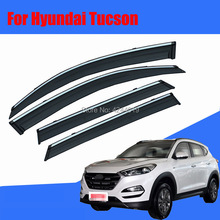Car Sun Visor Window Rain Shade for Plastic Accessories For Hyundai Tucson
