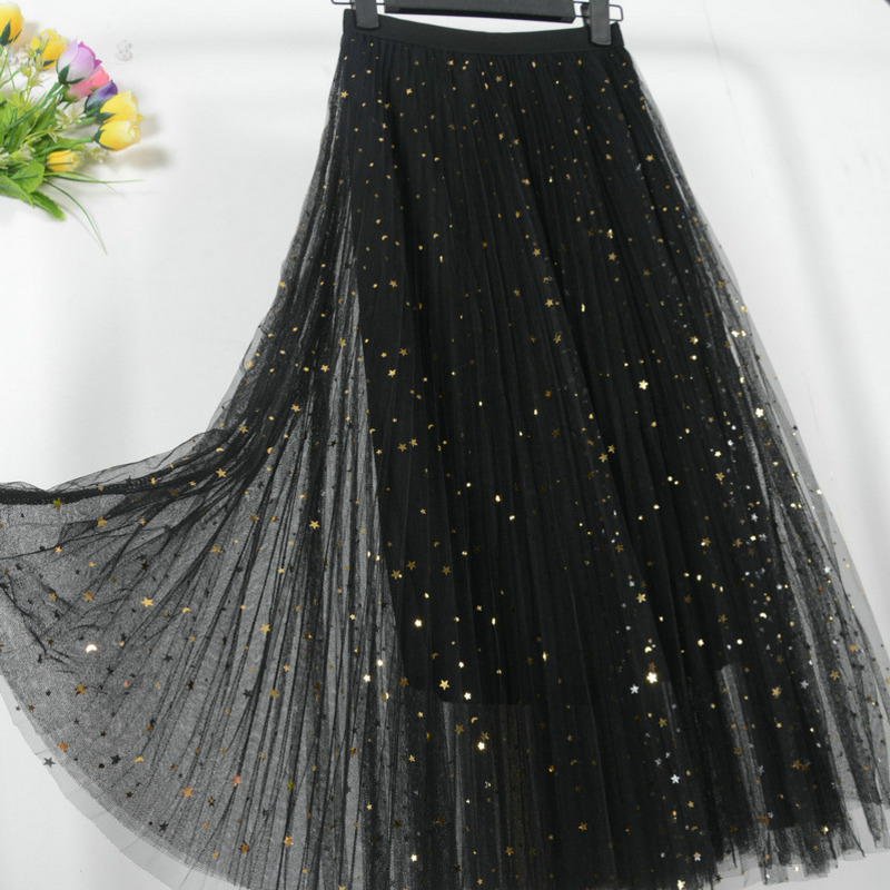 687c0a9ef9 Worldwide delivery black long skirt summer in NaBaRa Online