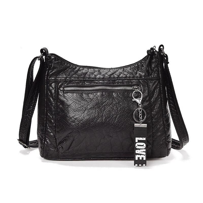 Women Bags Vintage PU Leather Luxury Handbags Designer Female Messenger Bags Small Shoulder Bag for Women 2019 Sac A Main