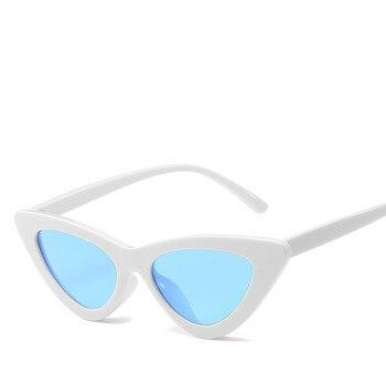 HINDFIELD Retro Cat Eye Sunglasses Women Brand Designer Vintage Sun glasses Women Eyewear Oculos De Sol Feminino CJ9788