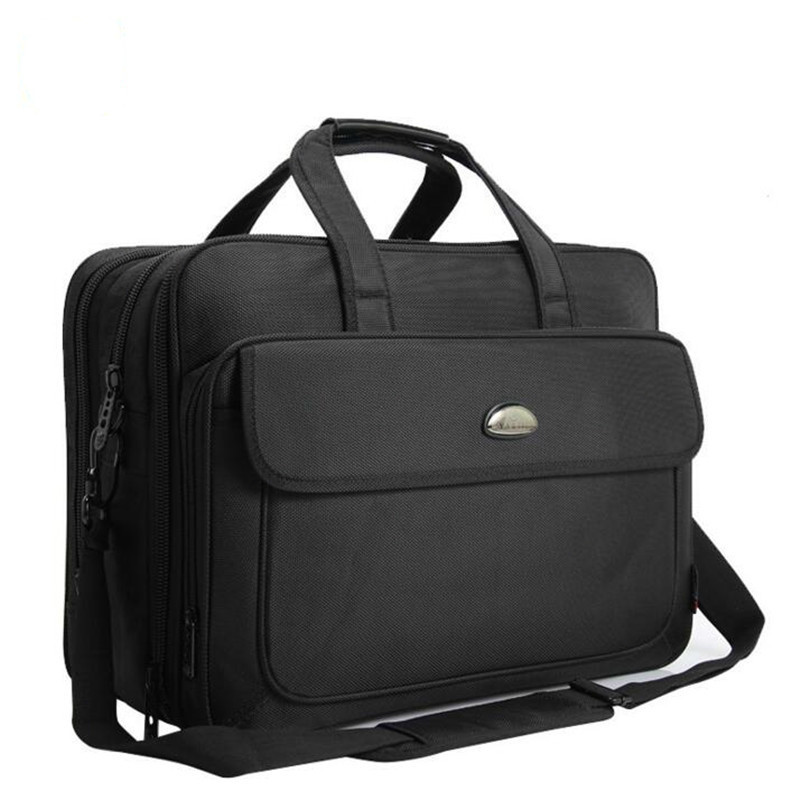 Classic Large Capacity Business Men's Briefcase Luxury Brand Men's Handbags Casual 17 Inch Laptop Bags Multi-Function Travel Bag
