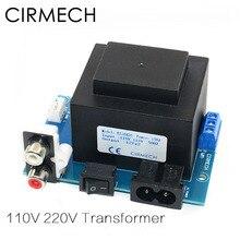 محول تيار متردد ثنائي الدائرة 12 فولت 10VA مربع الغلق محول EI 110 فولت 220 فولت في اختياري لسماعة أذن أذن أمبير DAC