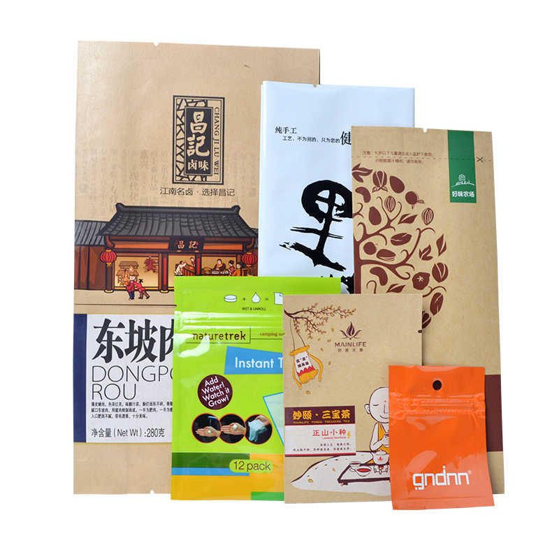 Food packaging bag Personal tailor Manual printing Not dry glue Machine printing customized