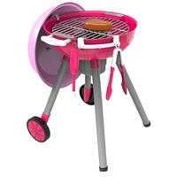 Simulation Toy Set Lighting Sound BBQ Variety Barbecue Cart Play House for Children