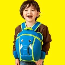 3-6 Years Old Kids Bag Neoprene Kindergarten Boys Backpack Super Light Weight Shoulder Pack