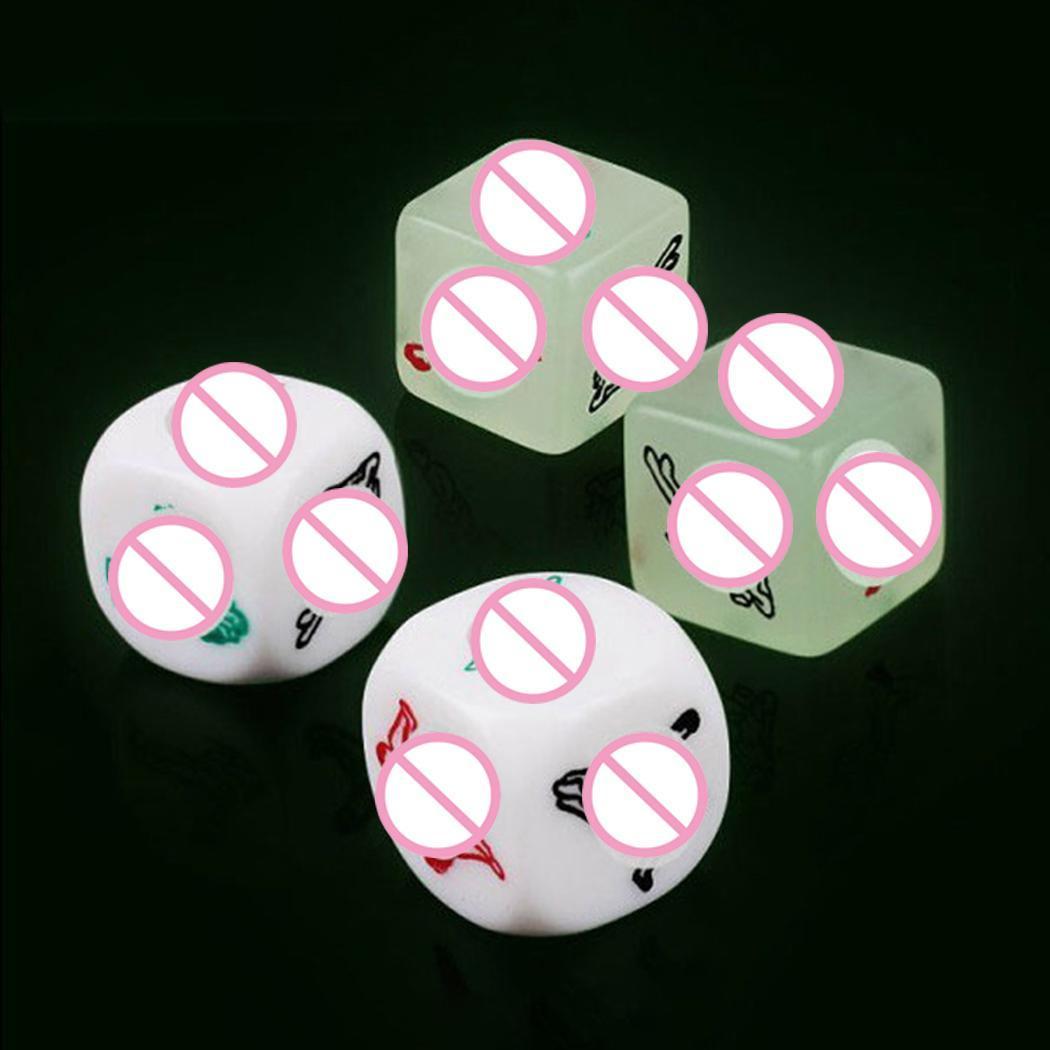 Эротические кубики светящиеся