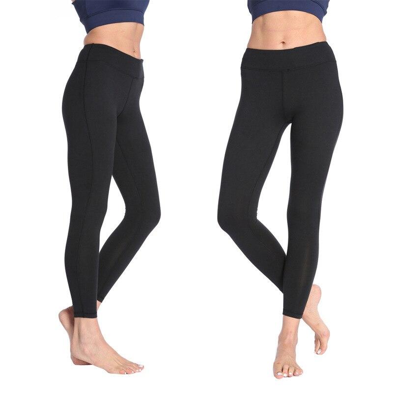 2018 New Women High Waist Leggings Squat Proof Yoga Pants