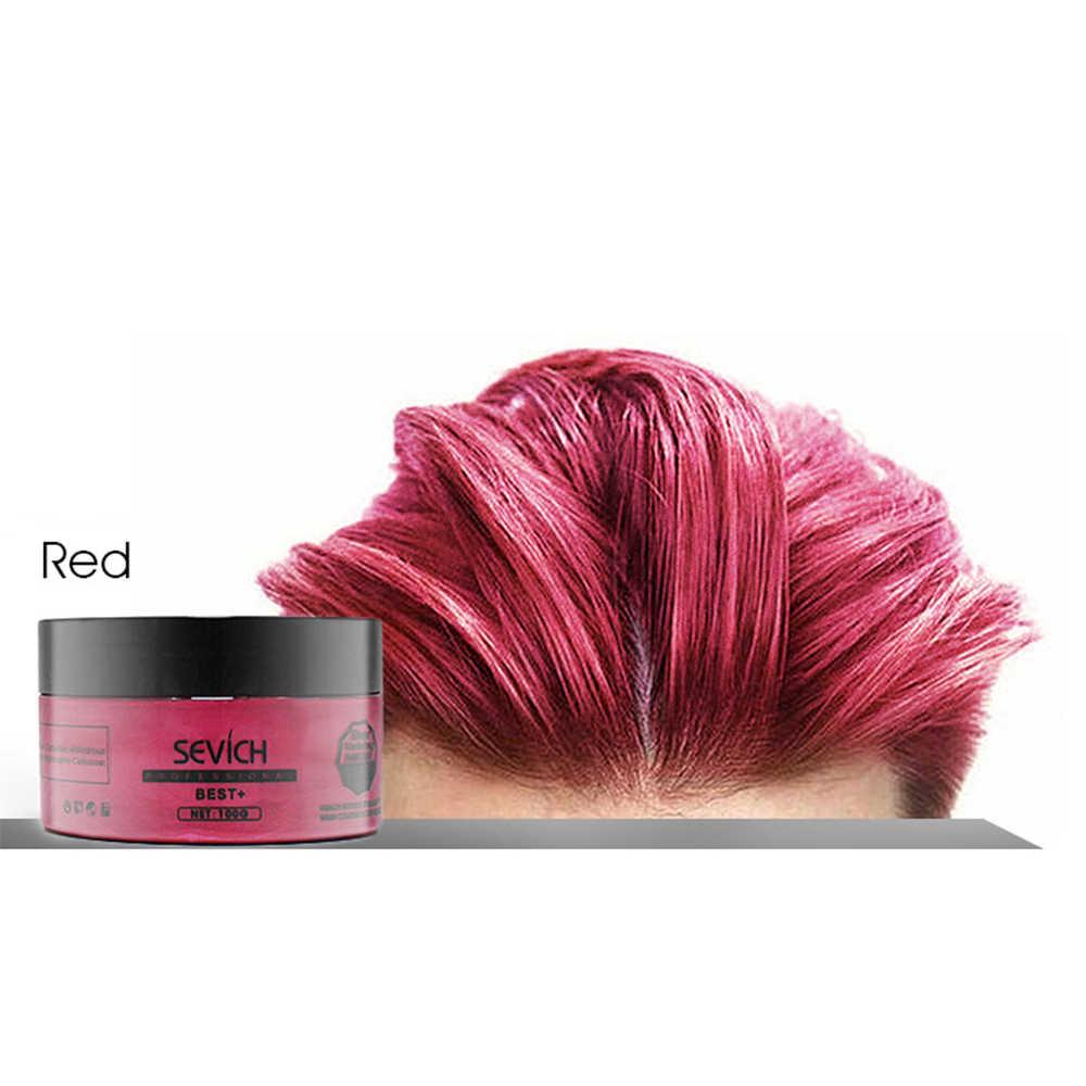 Hair Dye Gel   Tazol Temporary Hair Color Gel With Green ...
