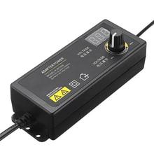 LEORY KJS 1509 3 24 V 1.5A Power Adapter Có Thể Điều Chỉnh Bộ Chuyển Đổi Điện Áp EU MỸ Cắm LED Hiển Thị Chuyển Mạch Cung Cấp Điện phổ