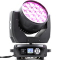 Светодиодный промывочный зум 19x15 Вт RGBW Подвижная головка свет zoom движущаяся головка Новый движущийся фонарь для мытья головы