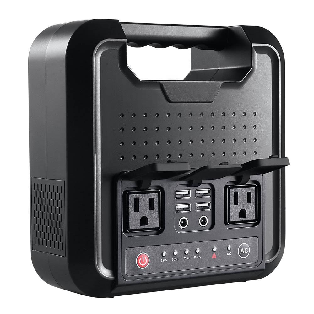 Générateur de centrale électrique Portable AC 110 V 220 V 220WH DC 54000 mAh batterie externe pour Camping en plein air appareil ménager d'urgence