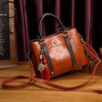 New Pattern Women Leather Handbags Lady Large Tote Bag Female Pu Shoulder Bags Bolsas Femininas Sac A Main Brown Black Red
