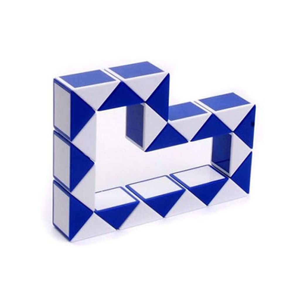 2019 Новое поступление магический куб с плетением в форме змеи игрушки трансформируемый пазл форма для льда интеллект Новинка обучающая игрушка 24 сегментов