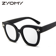 ZYOMY Men Women Sunglasses Little Bee Retro Sun Glasses Vintage Classic Brand Designer Oculos de sol Gafas UV400 Goggles 2018(China)