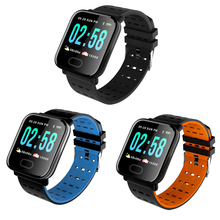 A6 Smart Band Blood Pressure Smart Bracelet Heart Rate Monitor Sport Fitness Tracker IP67 Waterproof Smart Wristband Watch недорого